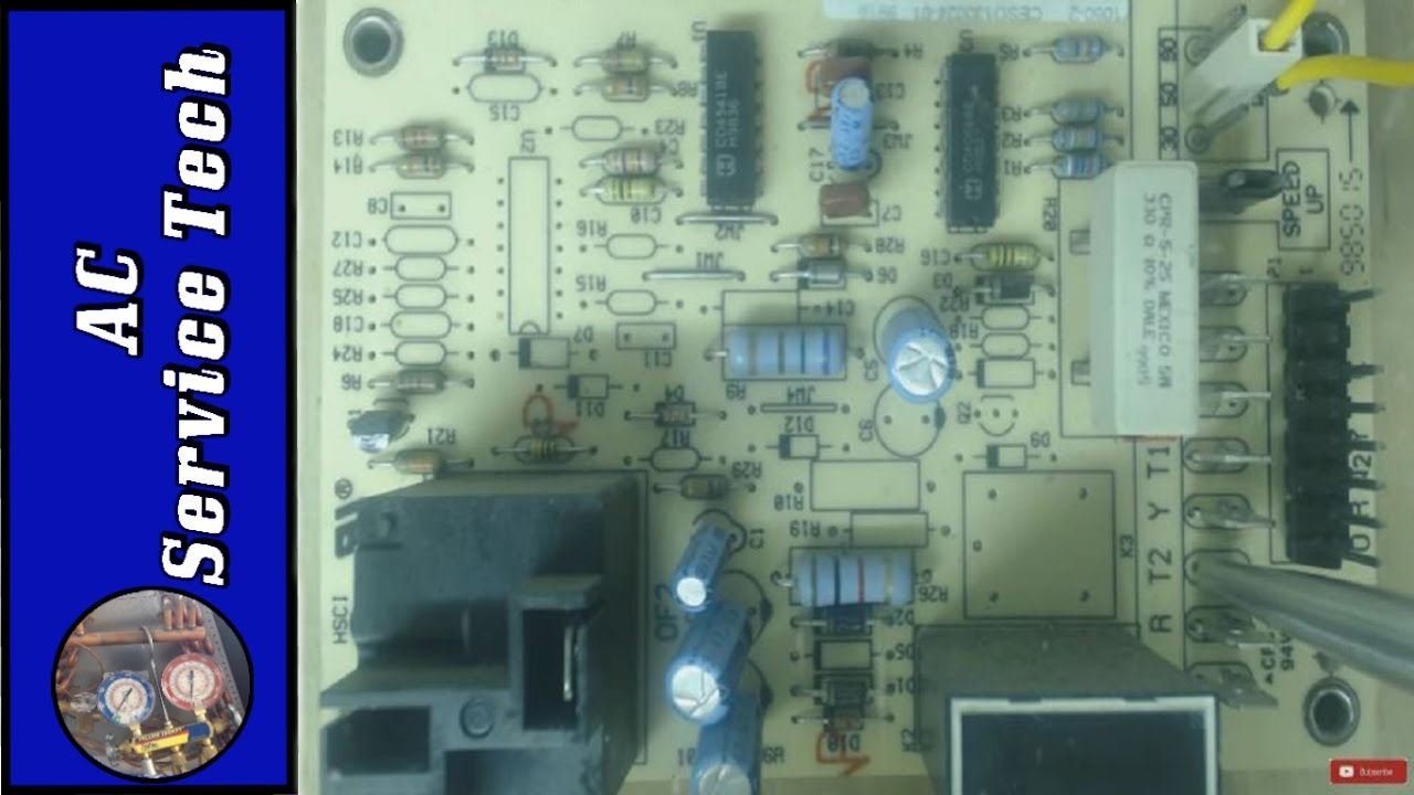 how this defrost control board works, heat pump wiring for defrosthow this defrost control board works, heat pump wiring for defrost cycle!