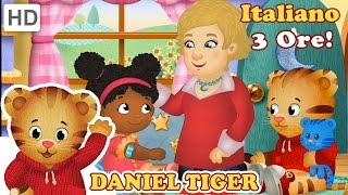 Daniel Tiger in Italiano - 3 Ore di Divertimento di Daniel Tiger (HD Episodi Completi)