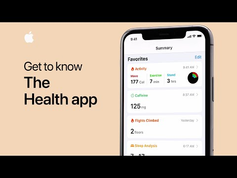 Get to know the Health app on your iPhone Apple Support