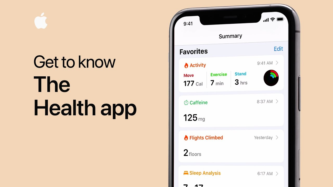 Get To Know The Health App On Your Iphone Apple Support Youtube