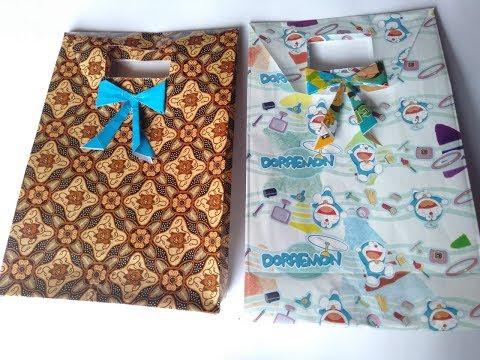 Kreati|Mudah!! Membuat Paper Bag Dari Kertas Kado Dan Origami|Beautiful❤️Make a Paper Bag