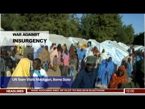 UN Security Council Visits Maiduguri, Borno State