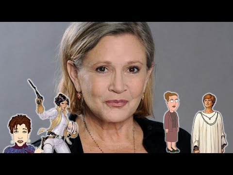 """Voice Showcase - """"Carrie Fisher"""""""