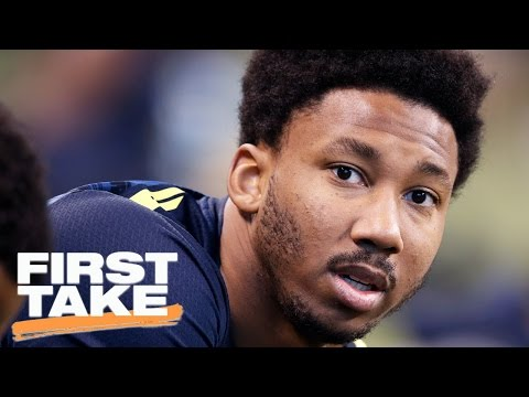First Take Crew On Warren Sapp Calling Myles Garrett 'Lazy' | First Take | April 24, 2017.