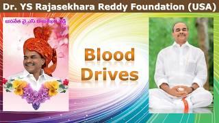 Dr. Y.S. Rajasekhara Reddy Foundation - Blood Drives 2010 - 2019