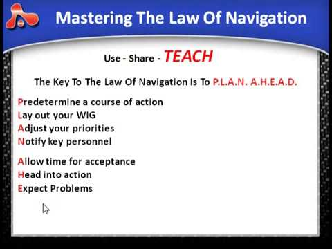 Leadership Law #04   The Law Of Navigation