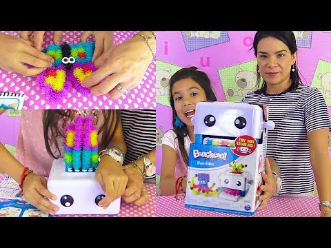 El RoBot que hace JuGueTes  BUNCHEMS !!! AnaNana TOYS