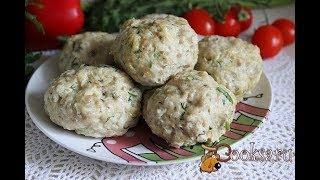 Паровые куриные тефтели с овощами и овсяными хлопьями Диетические блюда