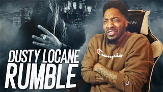 POP SMOKE CHANGED DRILL FOREVER! | DUSTY LOCANE - RUMBLE (REACTION!!!)