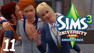 Let's Play: The Sims 3 University Life - (Part 11) - Toga Party!