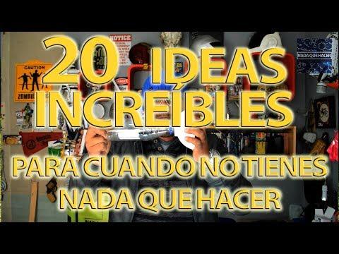20 ideas increíbles para cuando no tienes nada que hacer (para nuevos suscriptores)|NQUEH