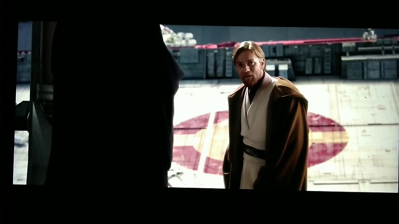 Good bye old friend, may the force be with you | Obi-Wan Kenobi | Revenge of the Sith - YouTube