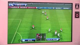 Pro Evolution Soccer 2009 Xbox 360 Gameplay - TGS 2008: On
