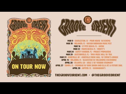 Groove Orient LIVE @ Asheville Music Hall 3-31-2018