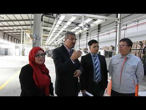 Youcef  YOUSFI Inaugure L'usine BAIC de BATNA