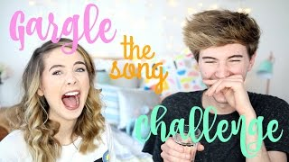 Gargle The Song Challenge | Zoella