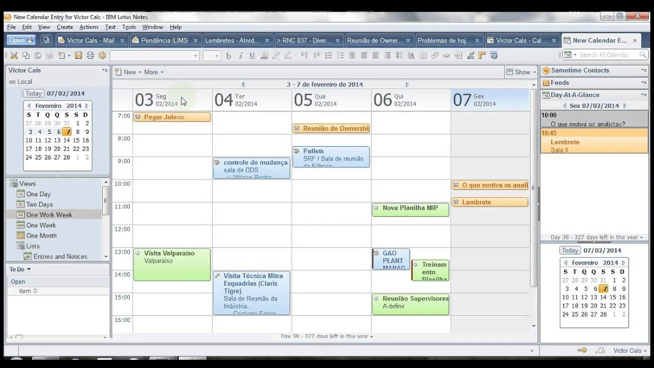 Lotus Notes Agenda Youtube