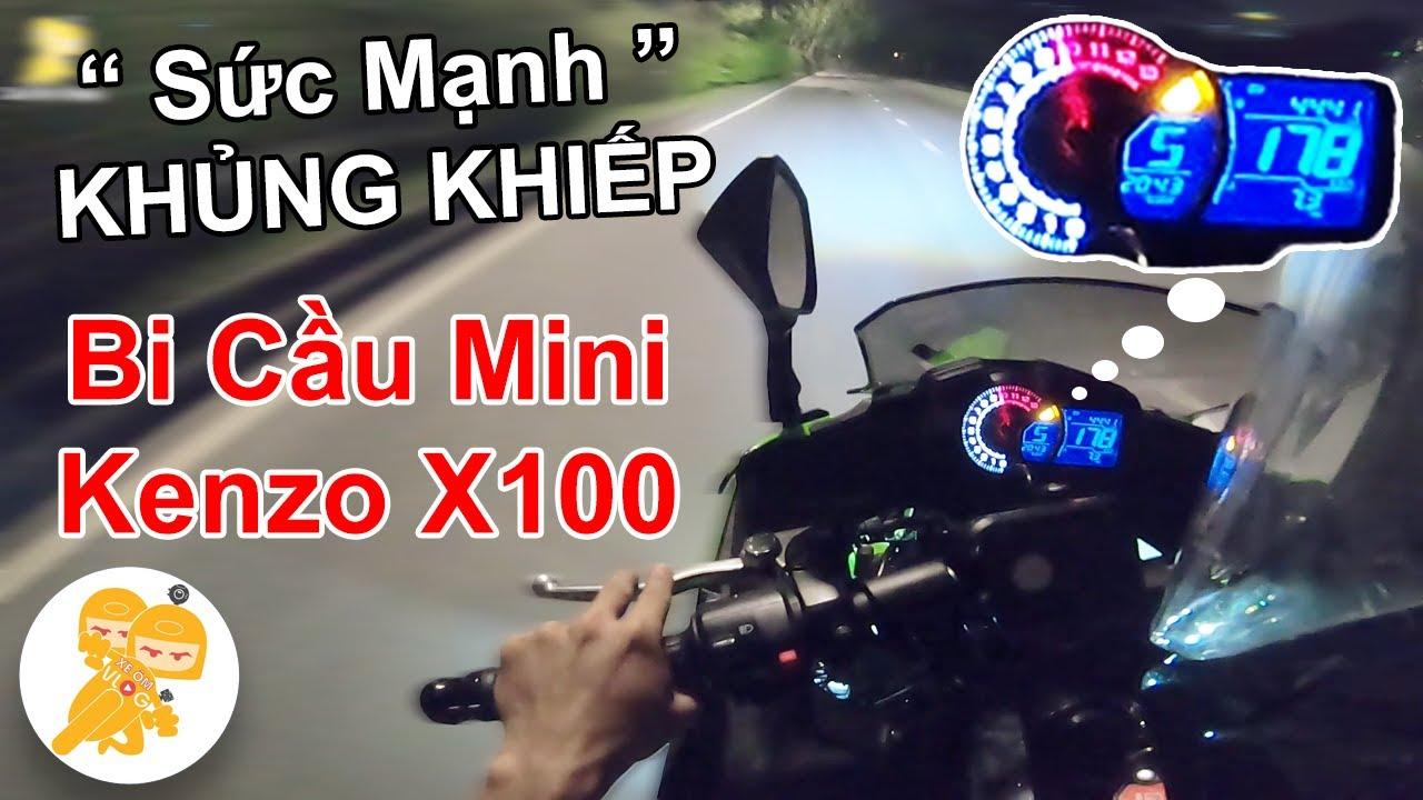 Test SỨC MẠNH Khủng Khiếp Của BI CẦU Mini KENZO X100 Trên Xe Mô Tô 900cc - Xe Ôm Shop