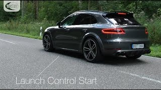 TECHART Soundvideo TA B95/T1 Powerkit and Exhaust System Sport for the Macan Turbo