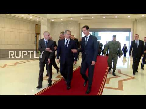 Syria: Shoigu and Assad hold talks on fight against militants in Damascus