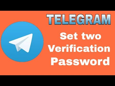 How to set two step verification password on telegram account