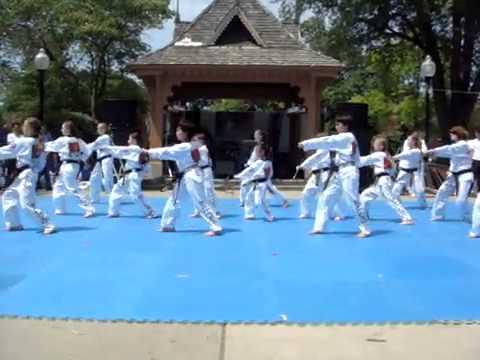 Taekwondo Dance - Vừa đánh võ vừa khiêu vũ _ Taekwondo Dance - Vua danh vo vua khieu vu