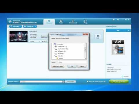 How to Convert QuickTime MOV to AVI