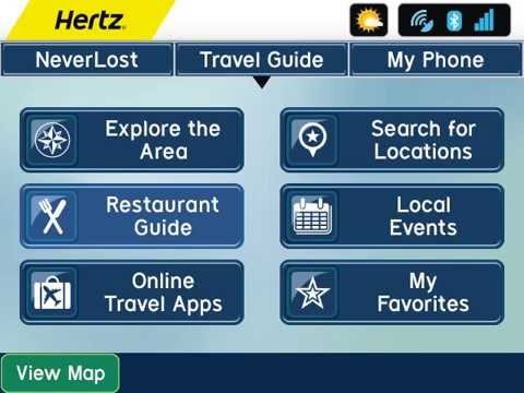 Thumbnail: Hertz NeverLost - TRAVEL GUIDE