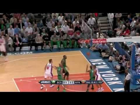 New York Knicks vs Boston Celtics (104 - 101) April 6, 2010