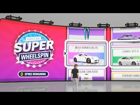 Forza Horizon 4 - Part 2 - My First SUPER WHEELSPIN
