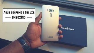 asus Zenfone 3 Deluxe Unboxing & Hands-on
