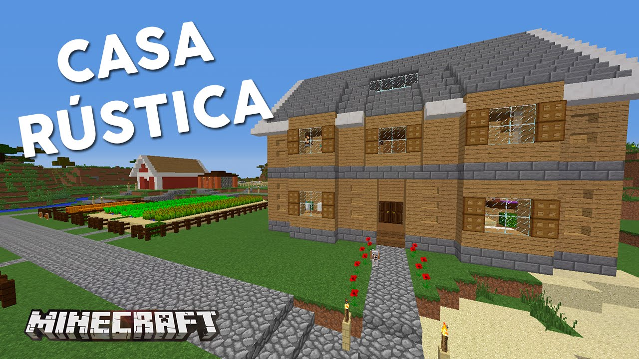 Casa r stica casas de sub minecraft youtube for Minecraft videos casas