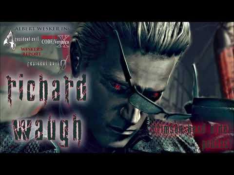 Resident Evil Podcast Richard Waugh Albert Wesker
