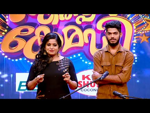 Thakarppan Comedy l 111  sounds & Finger Drums in one floor  l Mazhavil Manorama