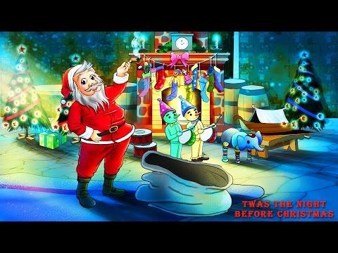 TWAS THE NIGHT BEFORE CHRISTMAS POEM VIDEO