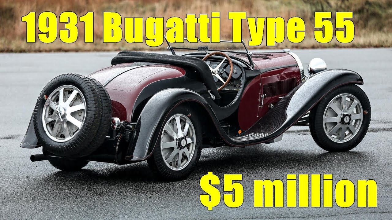 First Built 1931 Bugatti Type 55 Could Fetch $5 Million At Auction   Broom  Car