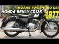 Honda CD 125cc Benly Hoàng T? ?en vang bóng m?t th?i ?ã Quay tr? l?i và ?n h?i h?n x?a #XuanduyMoto