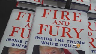 Stores Sell Out Of New Trump Book As President Attacks Author