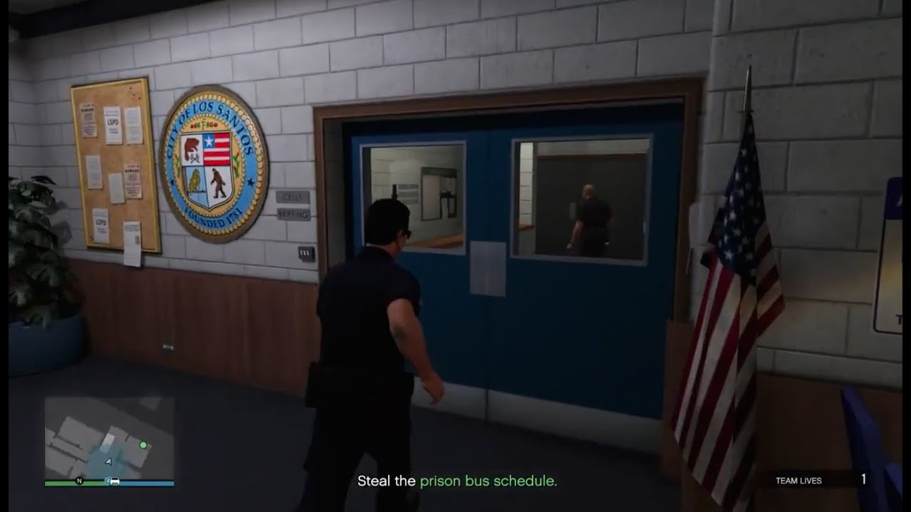 How To Join The Lspd Become A Cop In Gta V Xbox  One Playstation   Pc Youtube