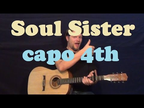 train hey soul sister how to play on guitar