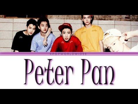 EXO-K - Peter Pan Lyrics (Colour Coded)