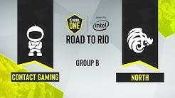 CS:GO - c0ntact Gaming vs. North [Inferno] Map 1 - ESL One Road to Rio - Group B - EU