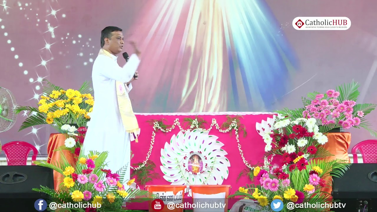 Word of God by Rev.Fr.Syril SVD@Bethsaida Jesus Christ Healing Centre,Tanjore,TN. 15-01-18
