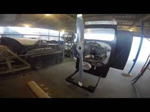Lycoming 0-320 100 Hour Inspection Engine Test
