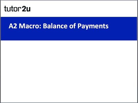 A2 Economics Revision Webinar - Balance of Payments