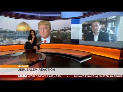 BBC: Yousef Munayyer on Trump's Jerusalem Announcement