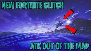 NEW FORTNITE BUG/GLITCH! FLYING OUT OF THE MAP! ATK BUG/GLITCH!