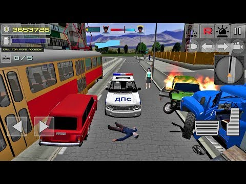 Traffic Cop Simulator 3D - Police Games Android IOS gameplay