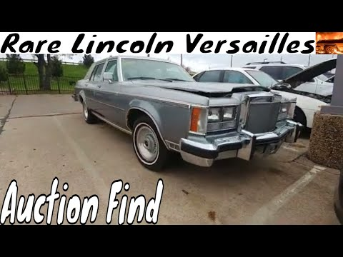 1979 Lincoln Versailles Auction Find