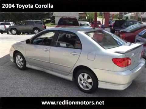 2004 Toyota Corolla Used Cars York PA